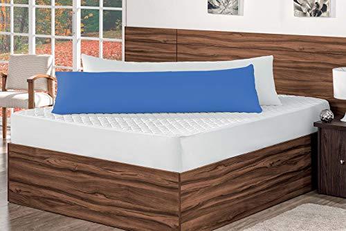 Fronha Para Travesseiro de Corpo Chuchão Tecido Grosso Azul