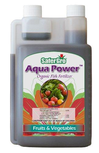 Safergro 9907QTCS Aqua Power Nutrients, 1 Quart