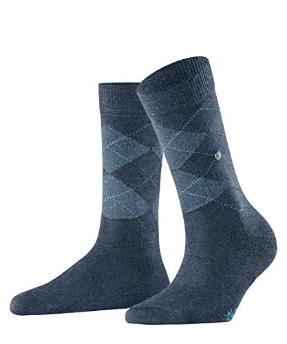 Burlington Damen Lurex Maryl. Socken, green, 36 (S)