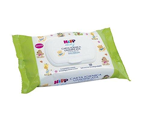 Hipp Baby Carta Igienica Umidificata - 50 Salviettine