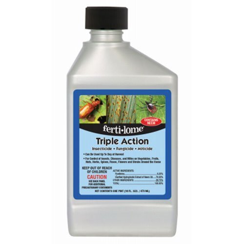 Ferti-Lome Triple Action Insect, Disease & Mite Control For Insects and Fungus 16 oz. (12245)