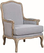Picket House Furnishings Regal Accent Chair in Light Blue