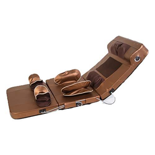 CIKO Heated Shiatsu-Style Massage Mat - Back Massager with Heat, Powerful Massage Motors, Heated Full Body Massage Mat Including Back, Neck, Lower Back, Lumbar & Thigh,with Bluetooth Function