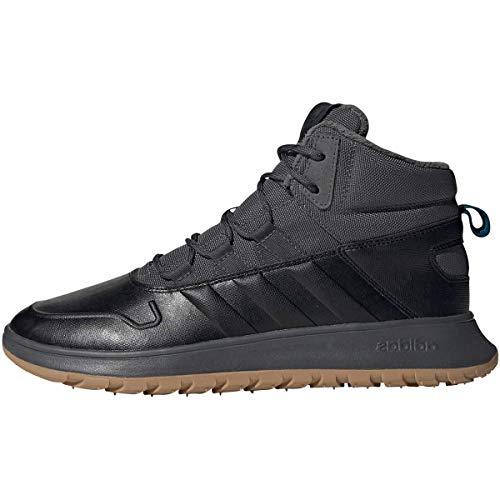 Adidas EE9706, Zapatillas Deportivas Hombre, Negro/Gris, 45 EU