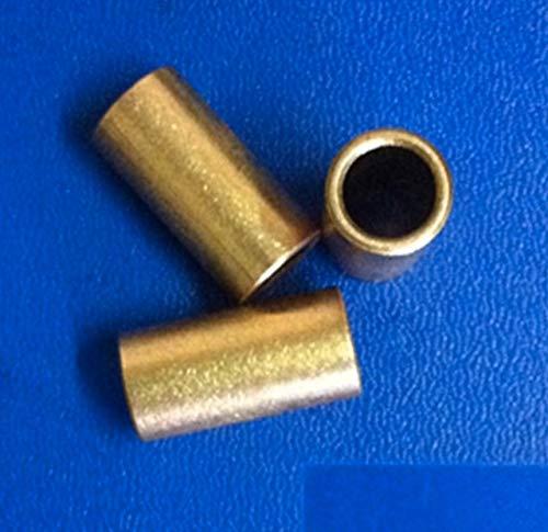 ANROSTA 10pieces L: 22 mm Interior del Agujero: 8 mm Exterior Diámetro: 11 mm cojinete de guía de Apoyo de Cobre Manga Aceite de precisión