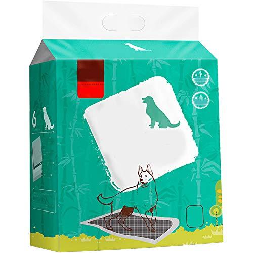 RCFRGV Kat en hond huisdierenbed Honden Katten Bed Cleaning 120G / M2 Polyester Knit Stretch Gerecycled Papier Doekjes Waterdicht Ademende Trainer Groen, M, Groen
