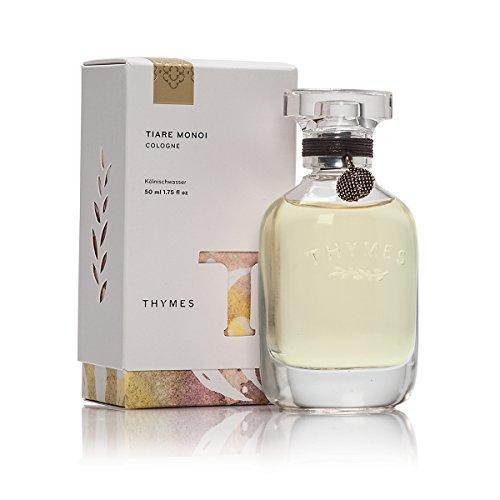 Thymes - Tiare Monoi Cologne - Light Floral Fragrance with Wild Jasmine - 1.75 oz