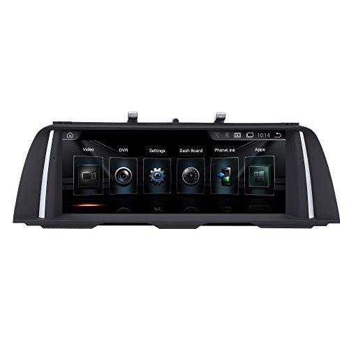 "TAFFIO® Android 9.0 HD Anti Glare Touchscreen GPS Navigation SD USB Multimedia Media Player für BMW F10 F11 mit CIC System *10.25\"" Display, 8-Core Prozessor 4GB RAM + 32GB ROM*"