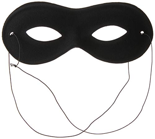 Smiffy's - Halbmaske schwarz