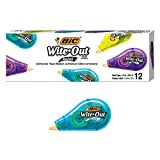 BIC Wite-Out Brand Mini Correction Tape, White,...