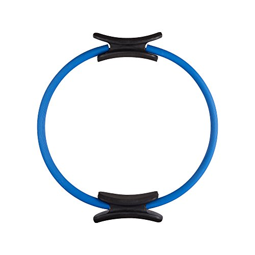 EmpireAthletics – Pilates-Ring mit Polstern und 35 cm Durchmesser für Pilates, Yoga, Ganzkörper-Training, Gymnastik UVM. – Core-Trainer Circle Kreis Magic-Circle in BLAU