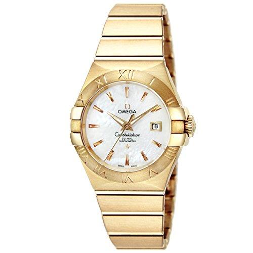 オメガ コンステレーション コーアクシャル 自動巻き レディース 腕時計 123.50.31.20.05.002 ホワイトパール [並行輸入品]