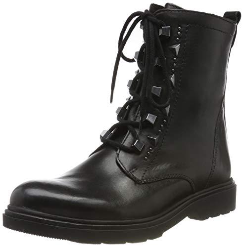 MARCO TOZZI Damen 2-2-25276-23 Biker Boots, Schwarz (Black Antic 002), 39 EU