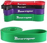 Bestope Bandes de fitness de résistance premium pull-up premium en latex pour l'haltérophilie, le yoga et l'entraînement pour homme Violet