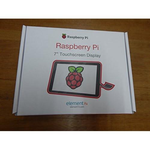 Raspberry 2473872 - Display a Schermo Tattile V2, 8MP, 7 Pollici