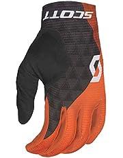 Scott Ridance 2019 - Guantes largos para bicicleta, color naranja y gris