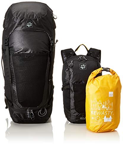 Jack Wolfskin Kalari Kingston Kit 56+16 Reiserucksack, Black, One Size