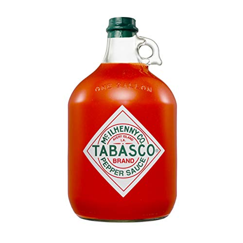 Tabasco Pepper Sauce, 1x Gallone 3,78 l, scharfe Chili Sauce, 100% natürlich, Glasflasche