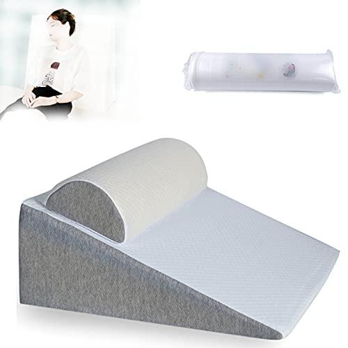 Kilkudde, Memory Foam Kilkudde, för ryggsmärtsyra Återflöde Snarkning Halsbränna Matsmältningsbesvär Multipurpose