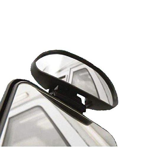 Toter-Winkel-Spiegel Banana - Repusel - Aufsatzspiegel mit individuellen Einstellmöglichkeiten für ein optimales Blickfeld, passend für 99Prozent der Automodelle