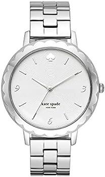 Kate Spade New York Women's Stainless Steel Scallop Topring Quartz Watch