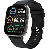 Togala Smart Watch, 1.69 Inch Touch Screen Smartwatch for Android and iOS Phones, Fitness Tracker with Heart Rate and Sleep Monitor, IP67 Waterproof Activity Tracker with 24 Sports Modes for Men Women