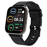 """Toglala Smartwatch, 1.69"""" Reloj Inteligente con Pulsómetro, Calorías, Monitor de Sueño, Podómetro Pulsera Actividad Inteligente 24 Modos Deporte, IP67 Impermeable Reloj Deportivo para Android iOS"""