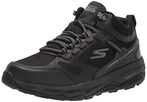 Skechers Men's GOrun Altitude-Trail Running Walking Hiking Shoe with Air Cooled Foam Sneaker, Black, 10 X-Wide