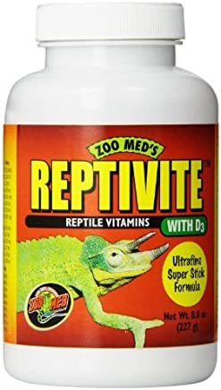 Zoo Med Reptivite, with Vitamin D3, 8-Ounce by Zoo Med Laboratories