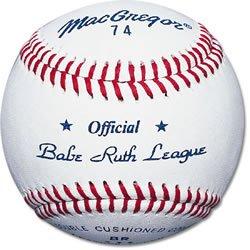 Macgregor 74 Official Babe Ruth Baseball (One Dozen)