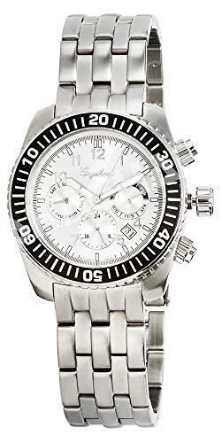 Engelhardt Herren Analog Mechanik Uhr mit Edelstahl Armband 386722028016