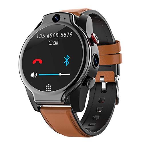 LEM14 1.6 Pulgadas Smart Watch Android 10 4GB 64GB IP68 A Prueba De Agua 13MP Cámara Dual 1100Mah Batería Grande 4G GPS Smartwatch para Android iOS