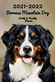 2021-2022 Bernese Mountain Dog Weekly & Monthly Planner: 2-Year Pocket Calendar | 26 Months | 152 pages 6x9 in. | Diary | Organizer | Agenda | Appointment | For Dog Lovers