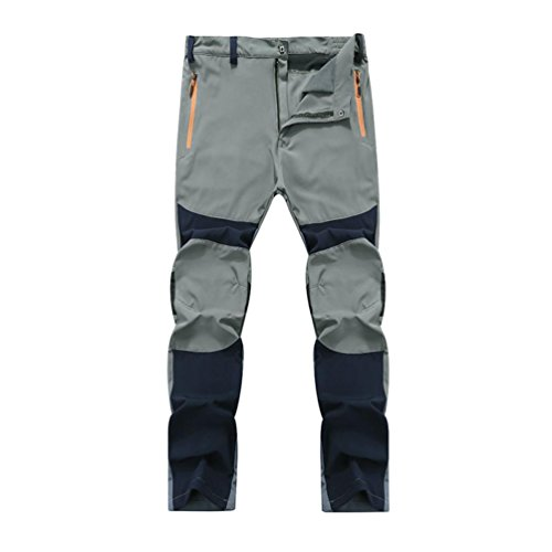 Oksale Men's Waterproof Windproof Breathable Trousers Hiking Climbing Trousers Tactical Pants...
