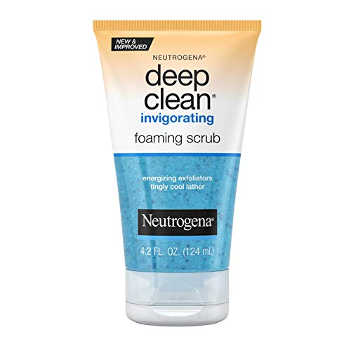 Neutrogena - Deep Clean Mousse Revigorante Scrub, 4,2 Once