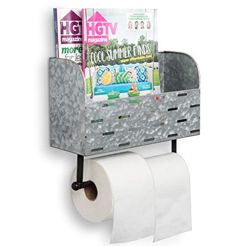 Top 10 best selling list for double toilet paper holder magazine rack