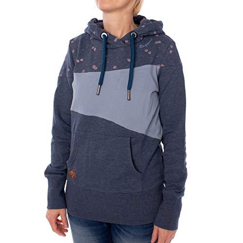 Ragwear Tarsa Zip Hoodie Größe: L Farbe: Blue