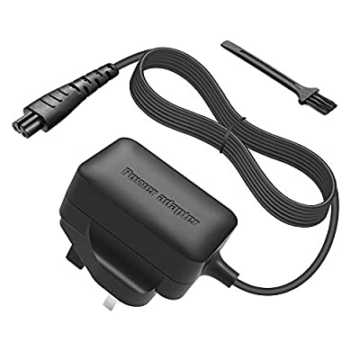 BERLS 5V Power Charger Cord Replacement for Remington Shaver Razor Beard Trimmer Power Cable XR1330, XR1350, XR1450, XR1400, XR1330, XR1470, XR1430, XR1410, PF7500, PF7600, PG6137 Power Supply from BERLS