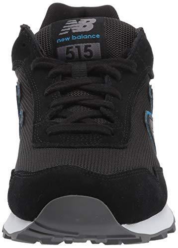 New Balance 515v1, Zapatillas Hombre, Black Magnet Neo Classic-Imán, Color Azul, 40 EU