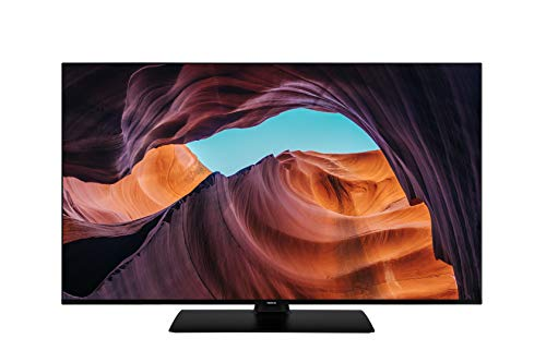 Nokia Smart TV 4300A 43 Zoll (108 cm) LED Fernseher (4K UHD, Dolby Vision, HDR10, Sprachassistent, Triple Tuner – DVB-C/S2/T2), Android TV, mit Bluetooth-Fernbedienung mit beleuchteten Tasten, A+