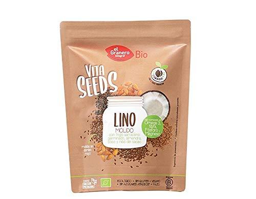 Granero Lino Molido Trigo Sarr Nibs Vitaseeds 1 Unidad 200 g