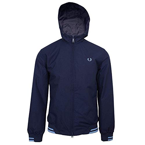 Fred Perry Tipped Hooded Sports Jas Heren