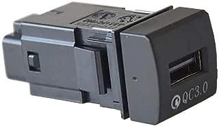 トヨタ 高速充電USBポート QC3.0 急速充電 スマホ iPhone 充電 タブレット 差し込み口 アクセサリー 内装パーツ カスタムパーツ【カムリ 70系】