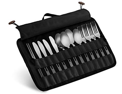 family utensil set for camping