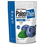 Julian Bakery Paleo Thin Protein Powder | Blueberry | 21g Egg White Protein | 2 Net Carbs | 1.85 LBS...