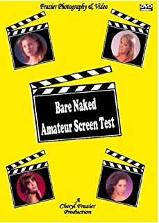 DVD Bare Naked Amateur Screen Test