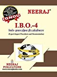 Neeraj Publication IGNOU IBO-4 - Export-Import Procedure & Documentation (Hindi Medium) [Flexibound] Publication IGNOU Help Book with Solved Previous Years Question Papers and Important Exam Notes neerajignoubooks.com