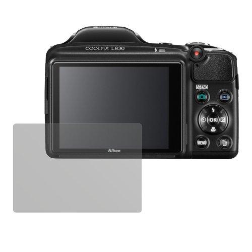 dipos I 6X Protector de Pantalla Mate Compatible con Nikon Coolpix L830 pelicula Protectora