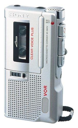 Sony M-560 V Diktiergerät silber