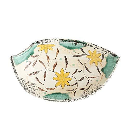 Retro baldosa cerámica Cuchara Desayuno Home Plate Placa Snack-retro estilo japonés de cocina Sushi Plato Restaurante Vajilla (Color : B)